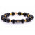 Anchored Black Obsidian Bracelet