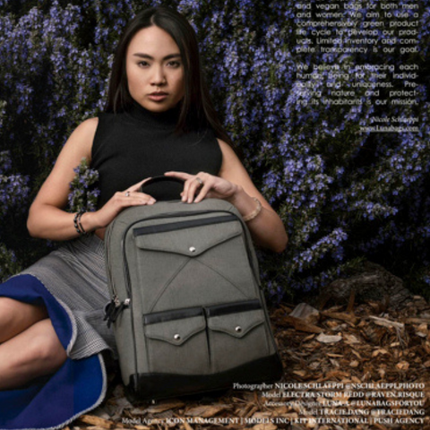 Luna Bags Featured by Edith Magazine