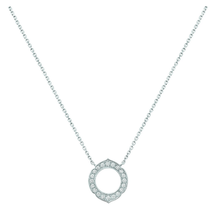 HRH Joaillerie white gold and diamond necklace