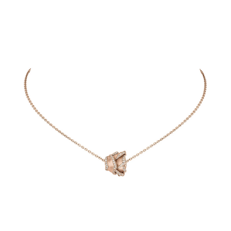 HRH Joaillerie rose gold and diamond necklace
