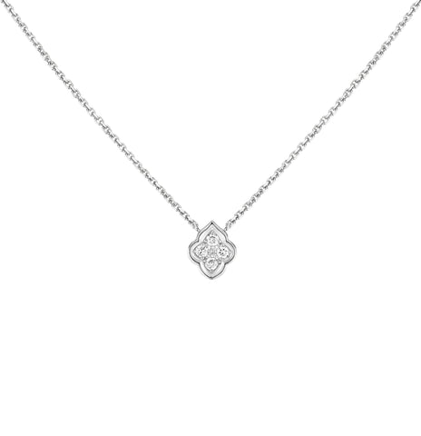 HRH Joaillerie white gold and diamond pendant necklace