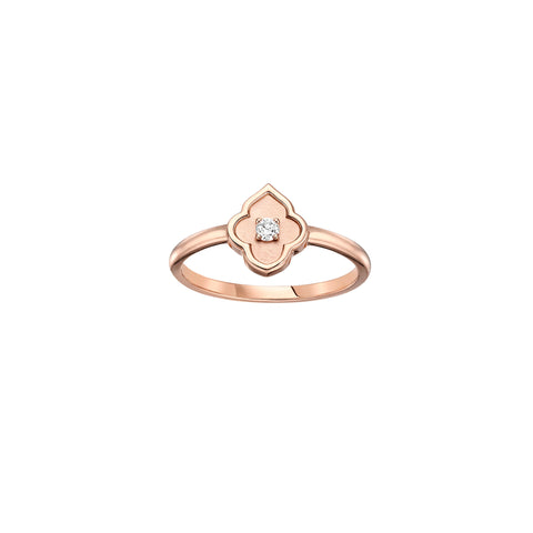 The Luce Rose Gold Ring
