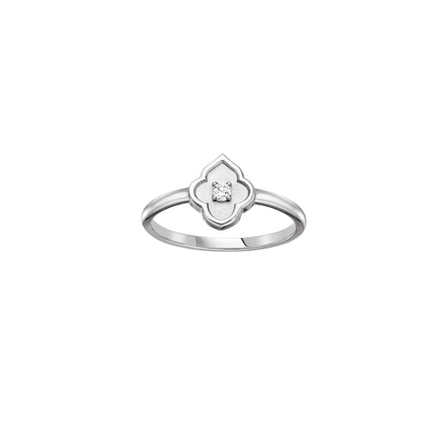 The Luce White Gold Ring