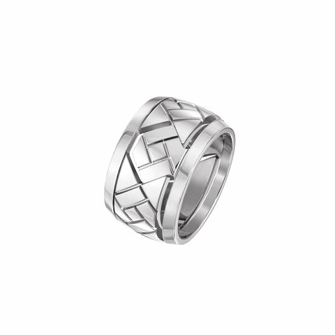 Grafik - White Gold Ring Large Model