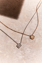 Load image into Gallery viewer, Luce - 1 Diamond Rose Gold Pendant