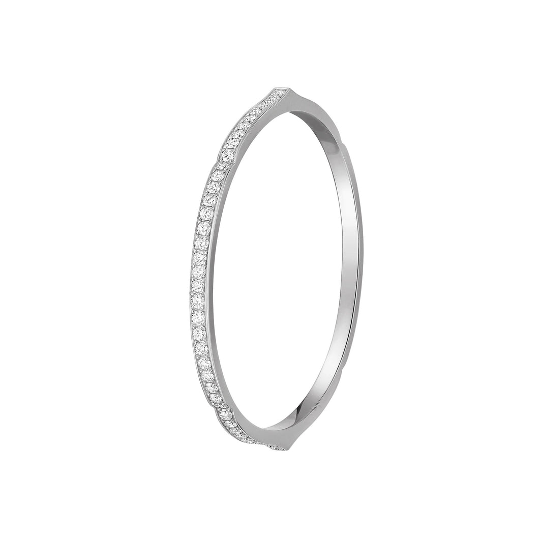 Aura - White Gold Diamond Bracelet