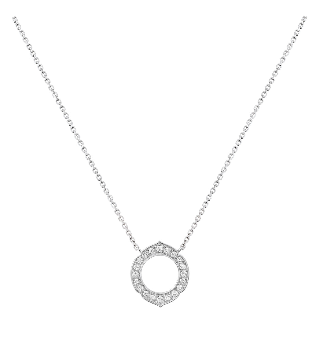 Aura - White Gold Diamond Pendant