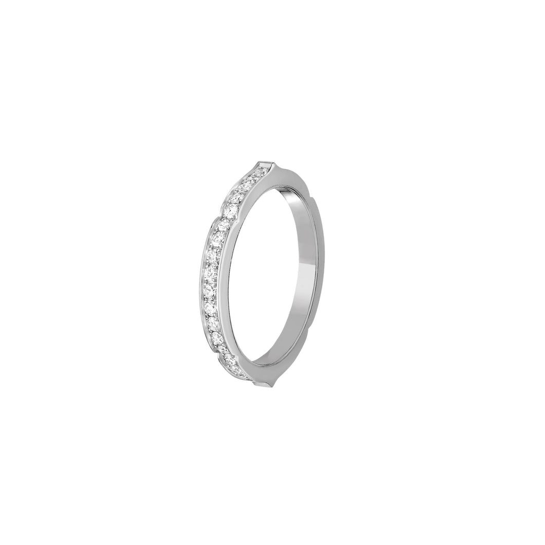 Aura - White Gold Diamond Ring