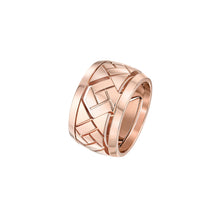 Load image into Gallery viewer, Grafik - Rose Gold Ring Large Model