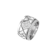 Load image into Gallery viewer, Grafik - Rose Gold and Diamond Ring Large Model