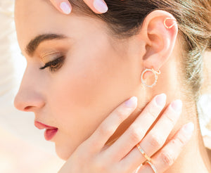 Aura - Rose Gold Ear Cuff