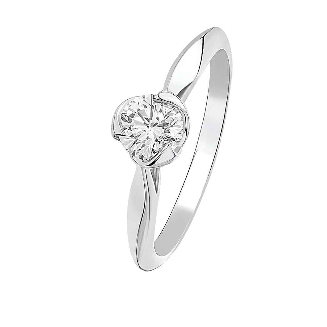 I Do - White Gold Diamond Solitaire 0.50ct