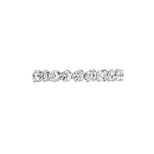 I Do - White Gold Diamond Wedding Band