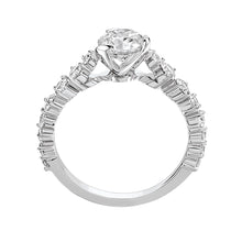 Load image into Gallery viewer, I Do - White Gold Solitaire 0.70ct with Diamond Setting