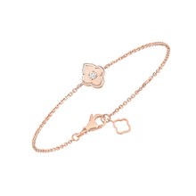Load image into Gallery viewer, Luce - 1 Diamond Rose Gold Bracelet