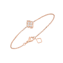 Load image into Gallery viewer, Luce - 4 Diamond Rose Gold Bracelet