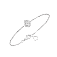 Load image into Gallery viewer, Luce - 4 Diamond White Gold Bracelet