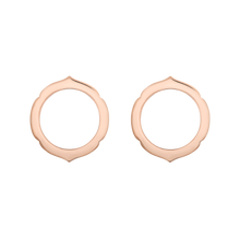 Load image into Gallery viewer, Aura - Rose Gold Earrings Small Model