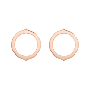 Aura - Rose Gold Earrings Small Model