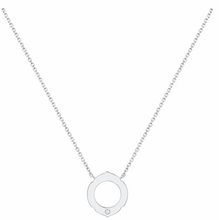 Load image into Gallery viewer, Aura - 1 Diamond White Gold Pendant