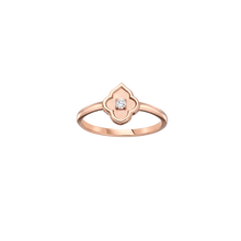 Load image into Gallery viewer, Luce - 1 Diamond White Gold Ring