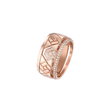 Load image into Gallery viewer, Grafik - Rose Gold and Diamond Ring Small Model