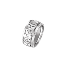 Load image into Gallery viewer, Grafik -  White Gold Ring Small Model