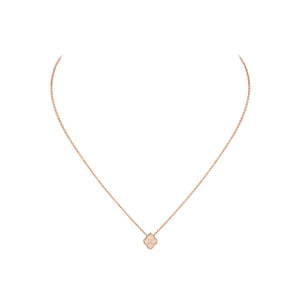 Luce - 1 Diamond Rose Gold Pendant