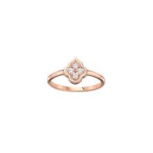 Load image into Gallery viewer, Luce - 4 Diamond White Gold Ring