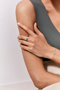 Luce - 1 Diamond White Gold Ring