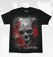 Sullen Distortion Men's T-Shirt In Black