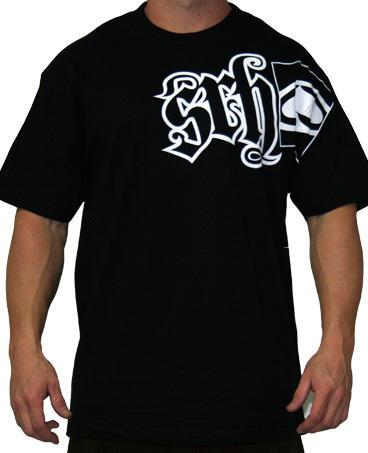 Srh Clothing Men's Code T-Shirt in Black