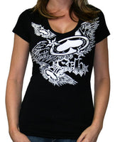 SRH Concord Girl's Tee In Black