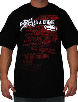 SRH Criminal Men's T-Shirt In Black