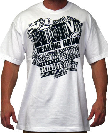 SRH Explicit Men's T-Shirt In White