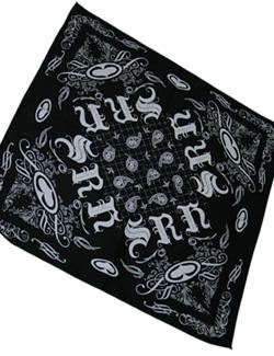 Srh Stunner Bandana In Black