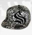 Sullen All Over Black Out Hat