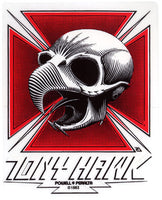Tony Hawk Iron Cross Skateboard Sticker   (Vintage)