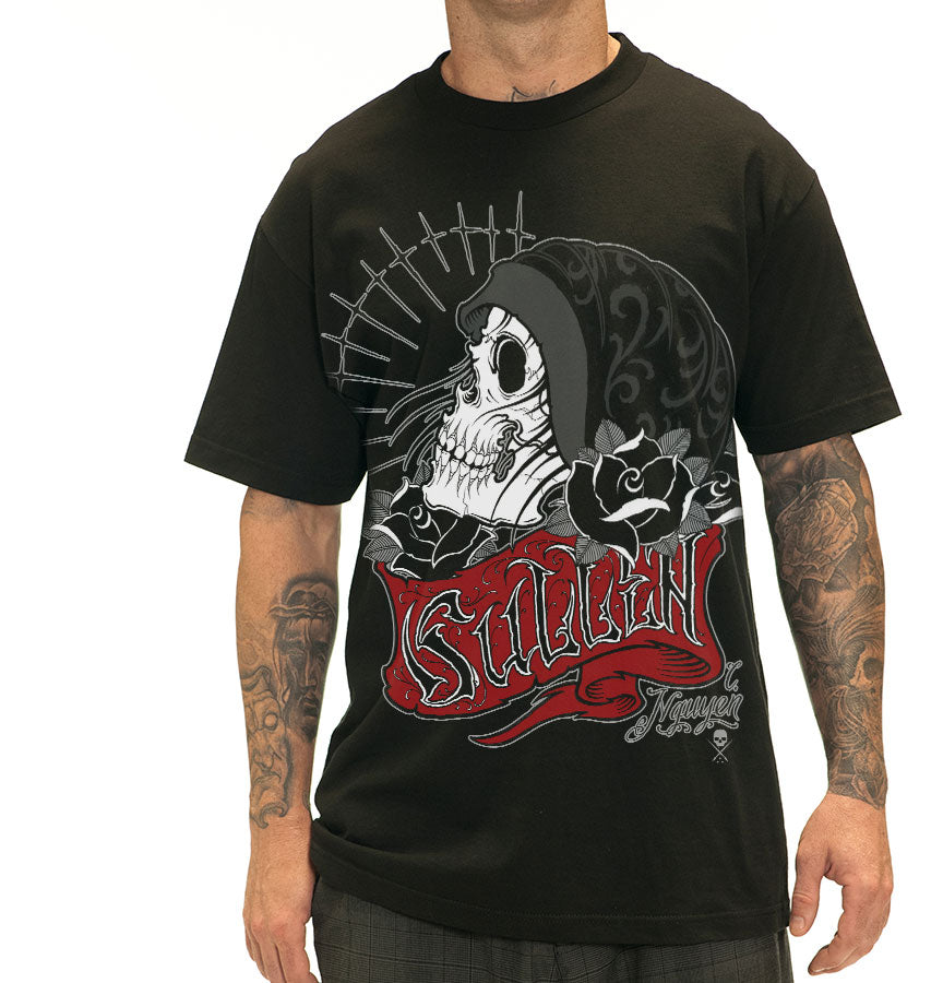 Sullen Vessel Men's T-shirt in Black