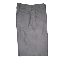 Burnside Men's Pinstripe Shorts In Gray