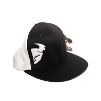 Thor Black and White Log Hat