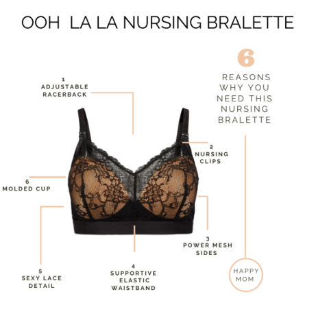 Image of Ooh La La Nursing Bralette