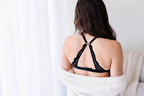 Image of Nursing Bralette - Black