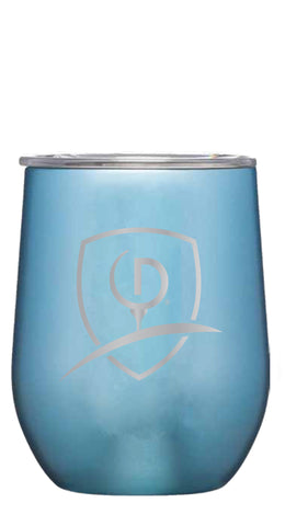Moonstone Metallic Stemless Cup, 12 oz