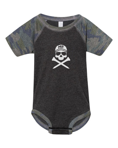 Mike Flaskey Rabbit Skins Infant Baseball Fine Jersey Bodysuit