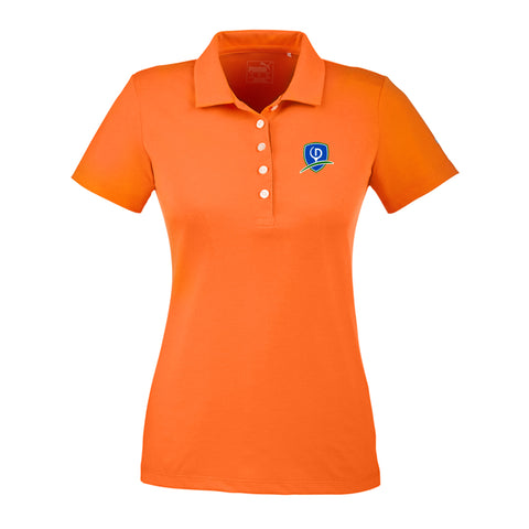 Puma Golf Ladies' Fusion Polo - Shield Logo (LC)