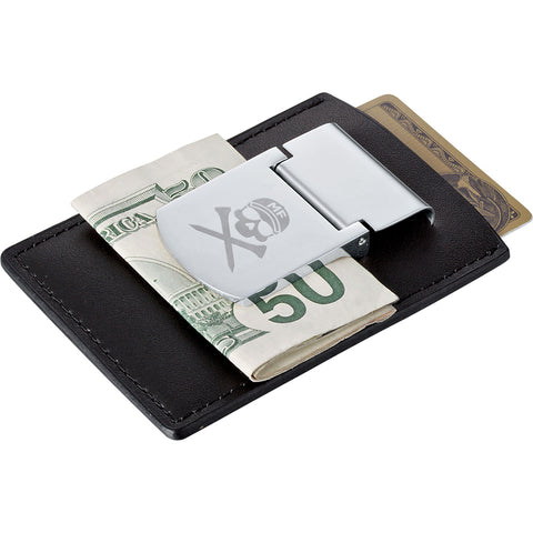 MF Zippo® Spring Loaded  Leather Money Clip
