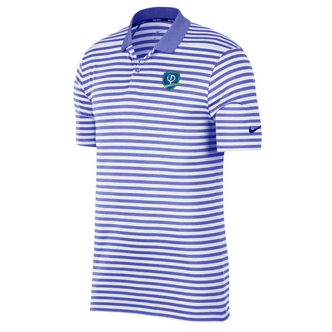 Nike Dry Victory Striped Polo - Shield