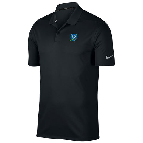 Nike Dry Victory Solid Polo - Shield Logo (LC)