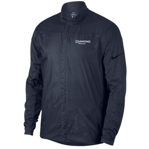 NIKE SHIELD FULL ZIP CORE GOLF JACKET - DR Logo (LC)